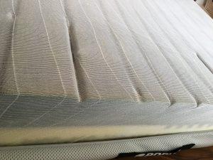 Weiche Seite der Matratze